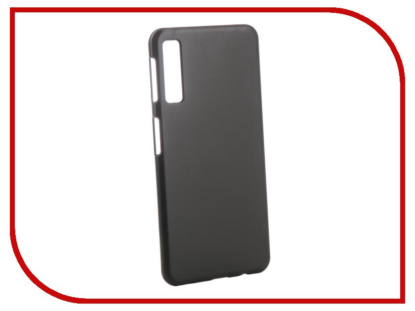 Аксессуар Чехол для Samsung Galaxy A7 A750F 2018 Zibelino Hard Plast Black ZHP-SAM-A750-BLK аксессуар чехол для samsung a8 2018 a530 zibelino clear view blue zcv sam a530 blu