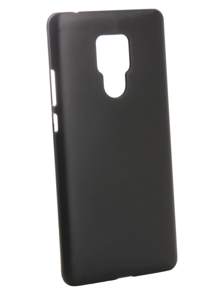 Чехол Zibelino для Huawei Mate 20X Hard Plast Black ZHP-HUA-MAT20X-BLK