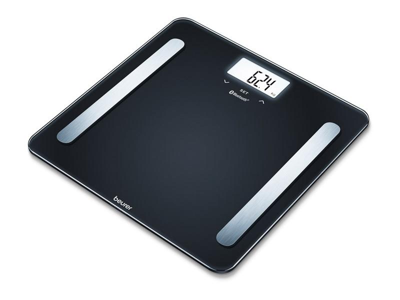 Весы напольные Beurer BF600 Pure Black 748.03 весы напольные beurer bf600 style
