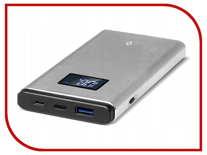 Аккумулятор ttec AlumiSlim QC 3.0 10000 mAh Space Grey 2BB145UG аккумулятор ttec powerslim 10000 mah 2bb133b white tec 8694470643656