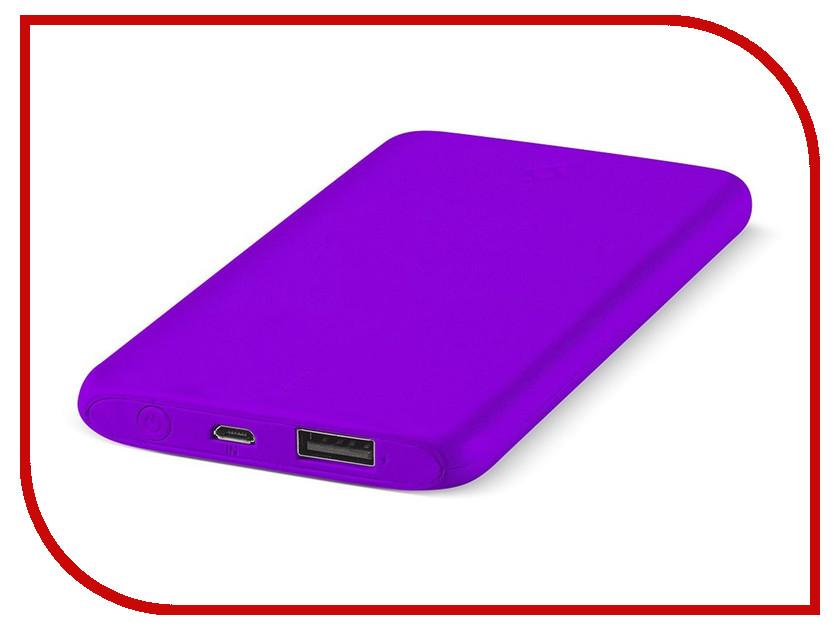 Аккумулятор ttec PowerSlim 5000 mAh Violet 2BB132MR аккумулятор ttec powerslim 10000 mah 2bb133b white tec 8694470643656