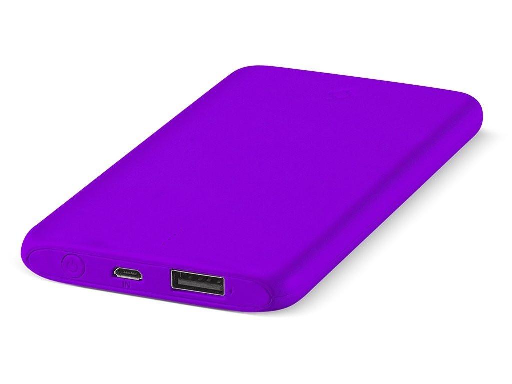 Внешний аккумулятор ttec PowerSlim 5000 mAh Violet 2BB132MR