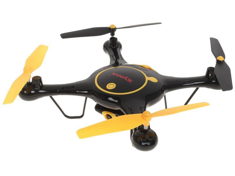 Квадрокоптер Syma X5UW Black квадрокоптер syma x5uw d