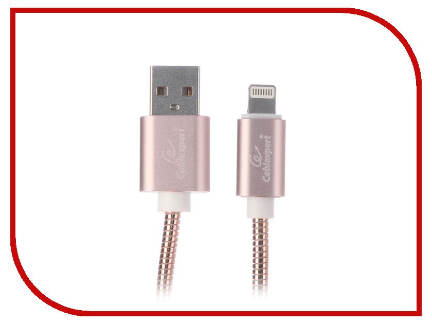 Аксессуар Gembird Cablexpert USB AM/Lightning 1m Gold CC-G-APUSB02Cu-1M аксессуар gembird cablexpert usb am lightning 8p 1m purple cc apusbp1m