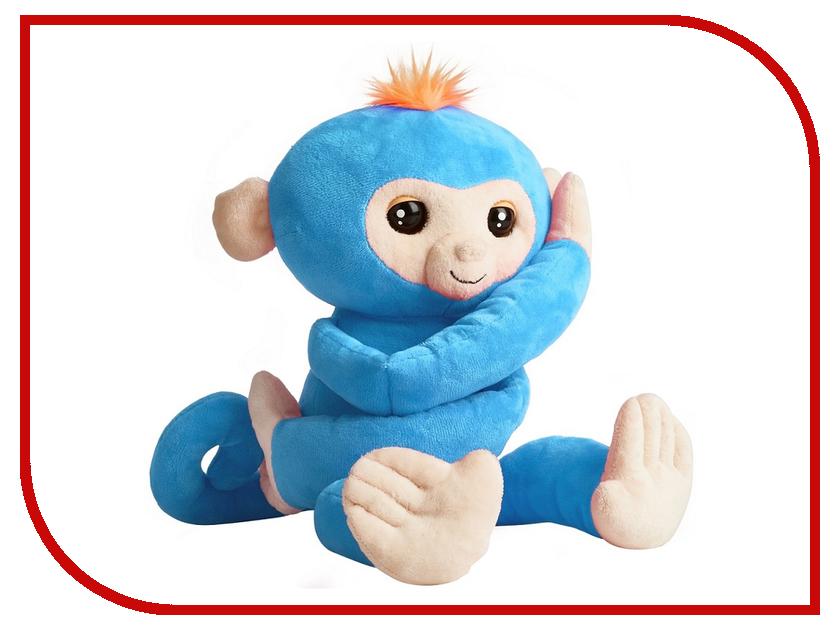 Игрушка WowWee Fingerlings Hugs Обезьянка-обнимашка Blue игрушка wowwee chip light blue 2804