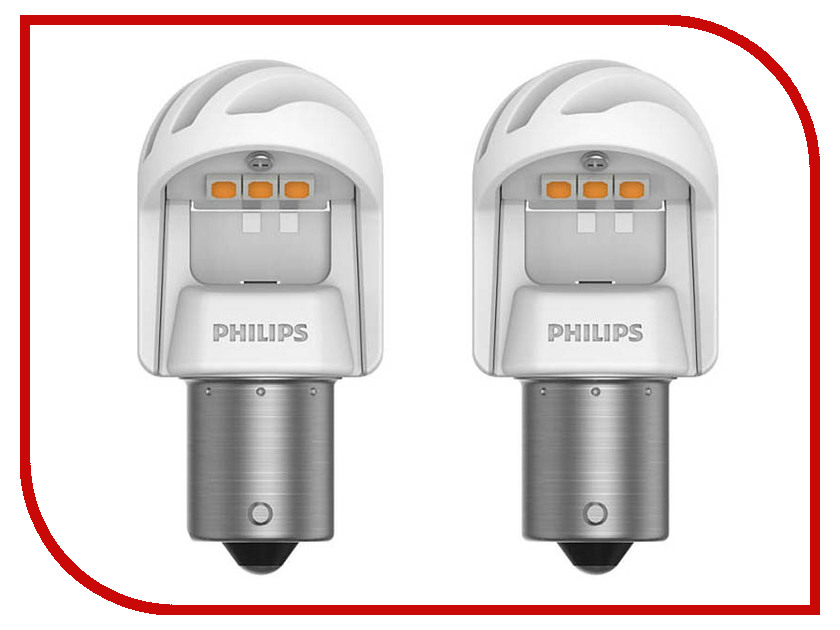 Лампа Philips X-treme Ultinon LED PY21W 12V-LED 21W BAU15s + CANbus CEA 11498XUAXM super bright car headlights led h15 canbus auto front bulb automobile waterproof headlamp 6000k car lighting
