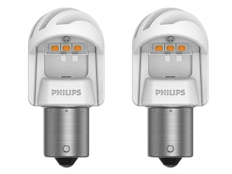Лампа Philips X-treme Ultinon LED PY21W 12V-LED 21W BAU15s + CANbus CEA 11498XUAXM