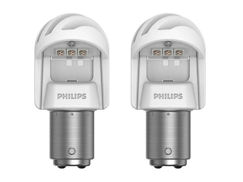 Лампа Philips X-treme Ultinon LED P21/5W 12V-LED 1.9/0.3W BAY15d Red (2 штуки) 11499XURX2