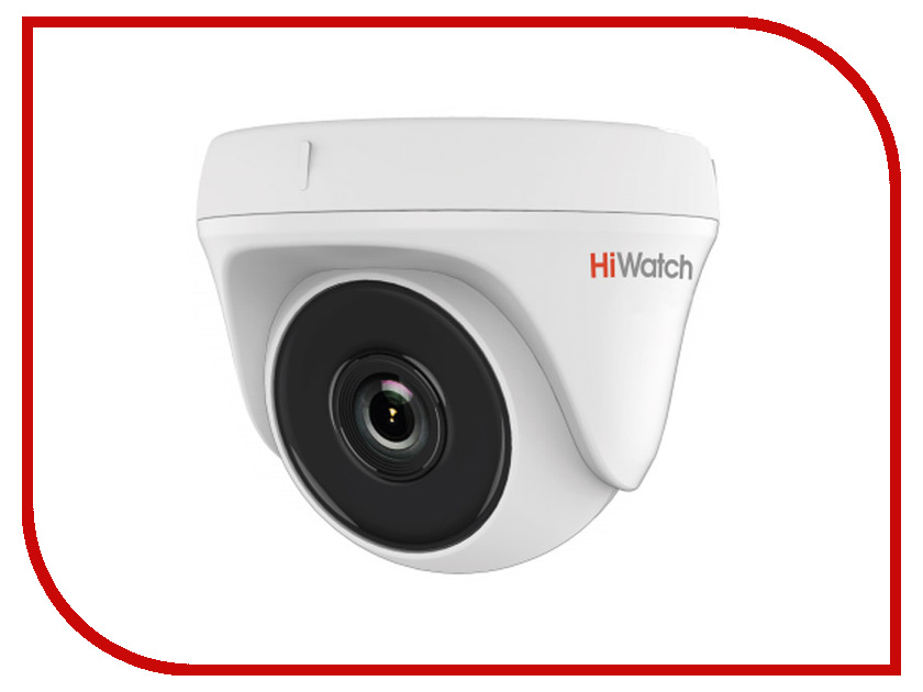 Аналоговая камера HiWatch DS-T133 2.8mm аналоговая камера hiwatch ds t106 2 8 12mm