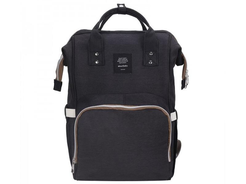 Рюкзак-сумка для мамы и малыша Veila Black 1425