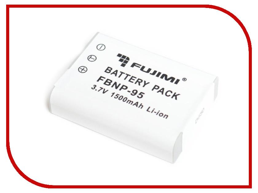 Аккумулятор Fujimi FBNP-95 1424 аксессуар 49mm flama fujimi kipon massa lens cap d49 fjlc f49 с веревочкой 1295