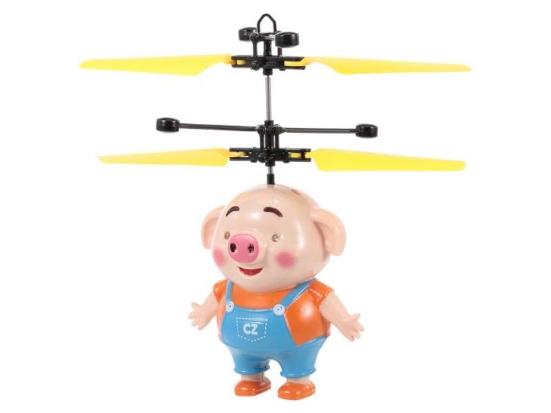 Игрушка СмеХторг Летающий поросёнок