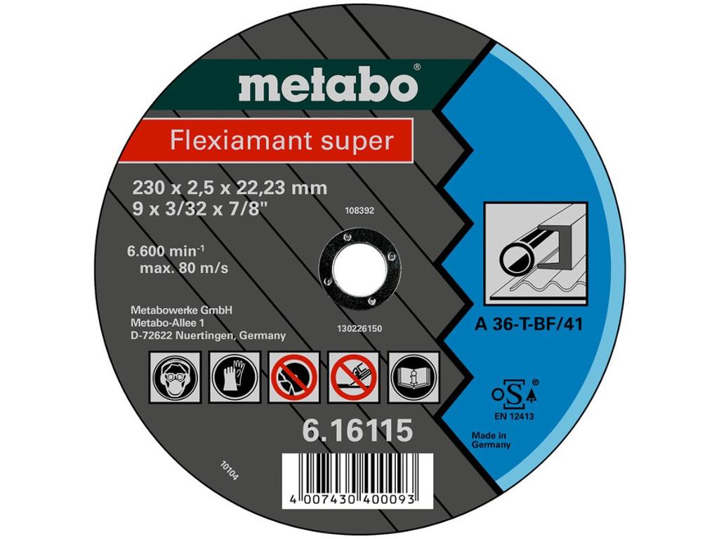 Диск Metabo Novoflex 150x2.5 отрезной для стали 6.17132 / 617132000