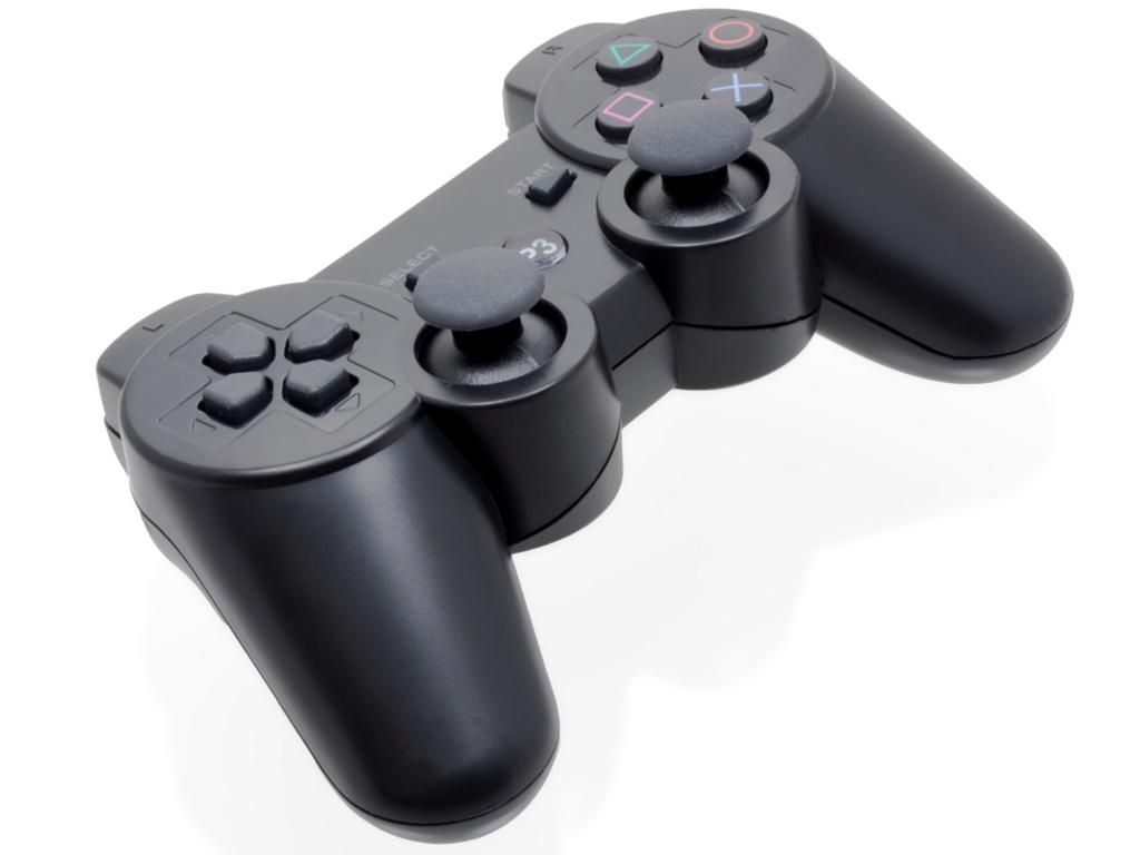 Геймпад Brosco Doubleshock III Black PS3-Doubleshock