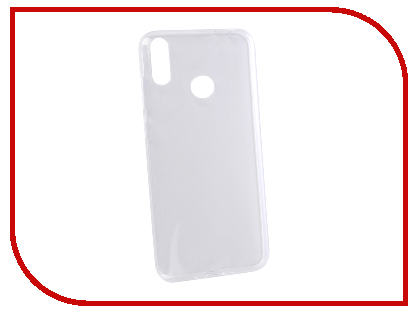 Аксессуар Чехол для Honor 8C Svekla Silicone Transparent SV-HWH8C-WH аксессуар чехол для huawei honor note 10 gecko transparent white s g huahnote10 wh