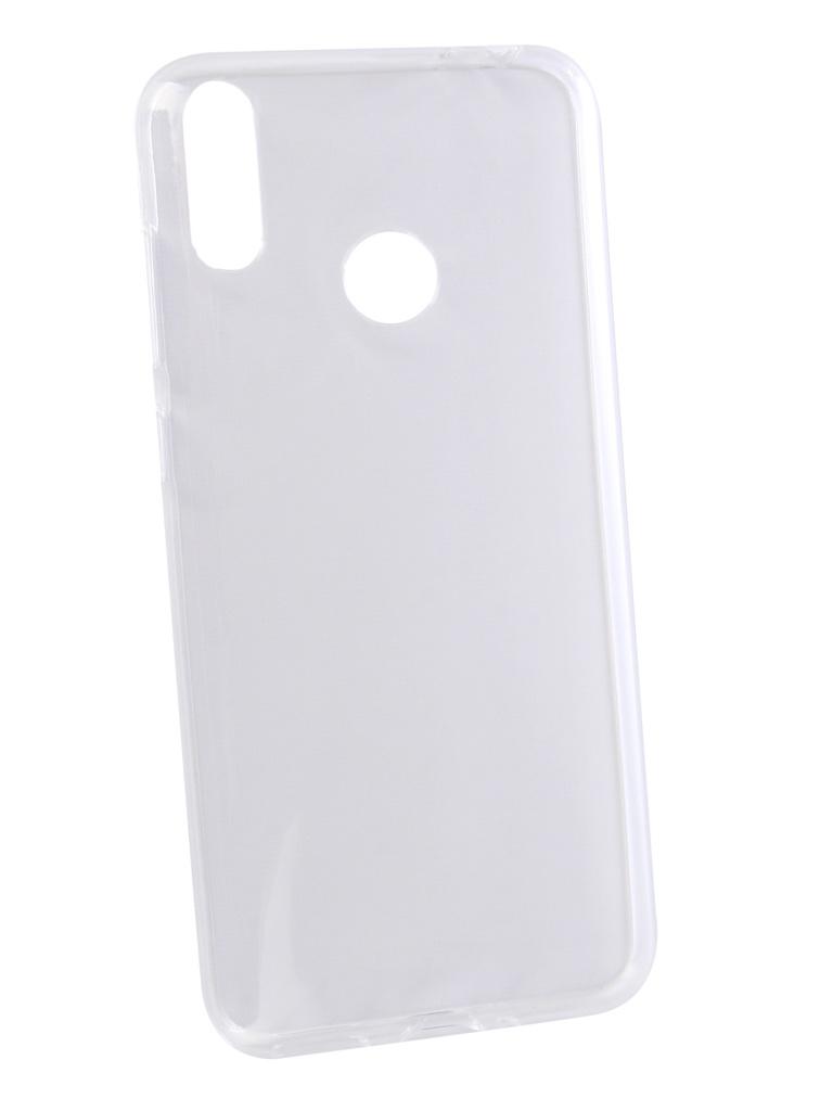 Аксессуар Чехол Svekla для Honor 8C Silicone Transparent SV-HWH8C-WH аксессуар чехол для xiaomi redmi note 5 svekla silicone transparent sv xiredn5 wh