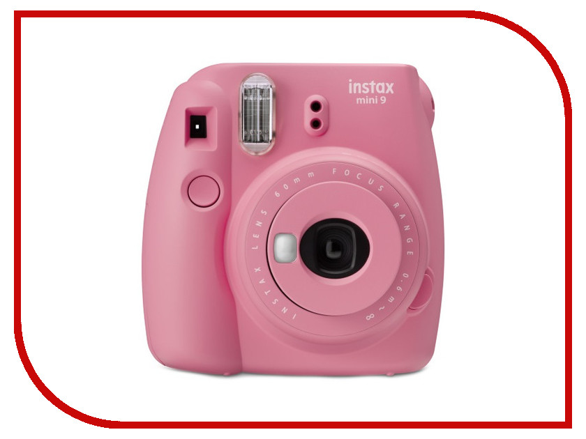 Фотоаппарат Fujifilm Instax Mini 9 Blush Rose brand new fujifilm instax camera mini 90s black instant mini film camera free shipping
