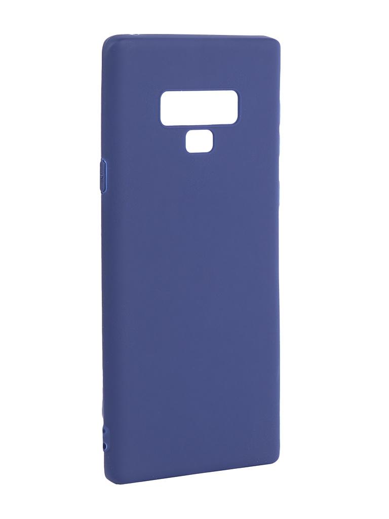 Аксессуар Чехол Pero для Samsung Galaxy Note 9 Blue PRSTC-N9BL