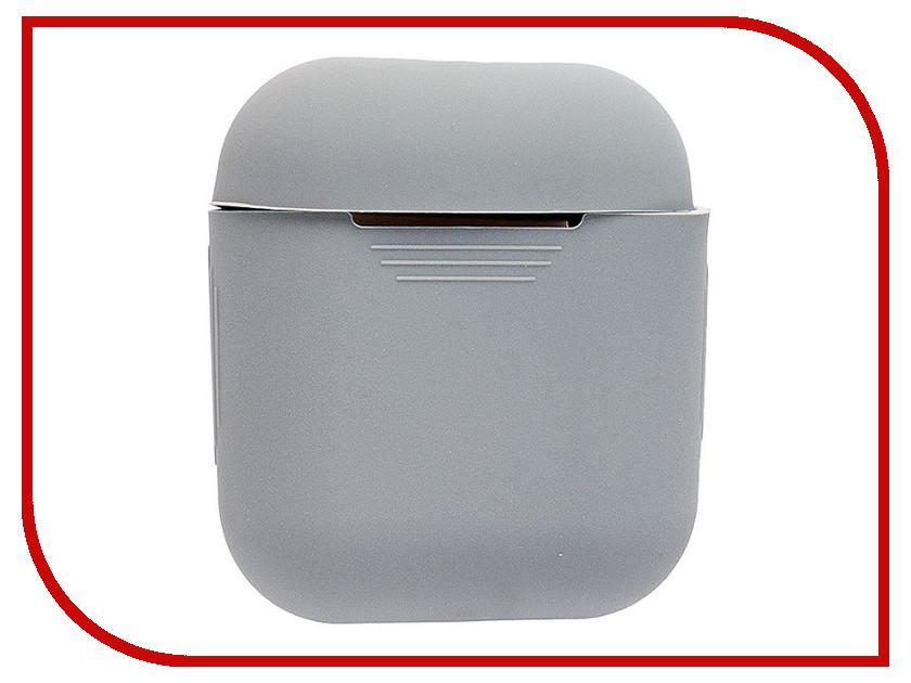 все цены на Аксессуар Чехол Activ Silicone Slim для APPLE AirPods Grey 91801