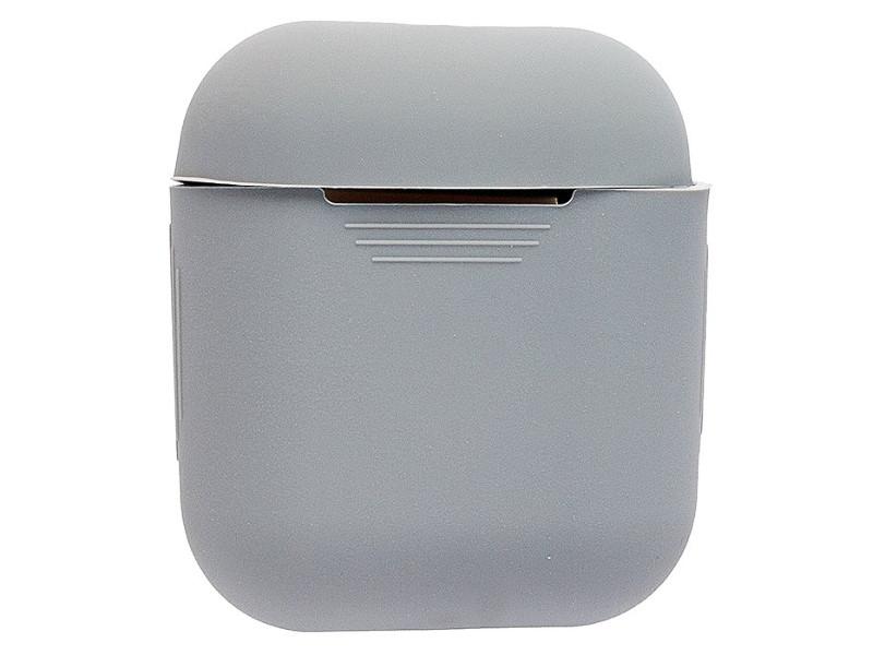 Аксессуар Чехол Activ Silicone Slim для APPLE AirPods Grey 91801