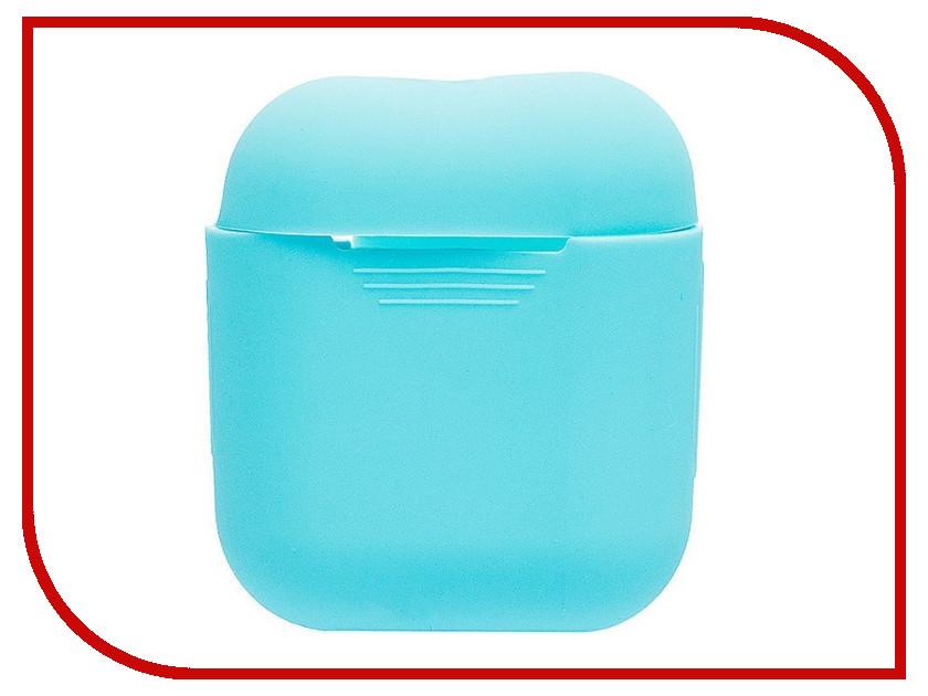 Аксессуар Чехол Activ Silicone Slim для APPLE AirPods Mint 91804 аксессуар чехол накладка htc desire 516 activ silicone red mat 45818
