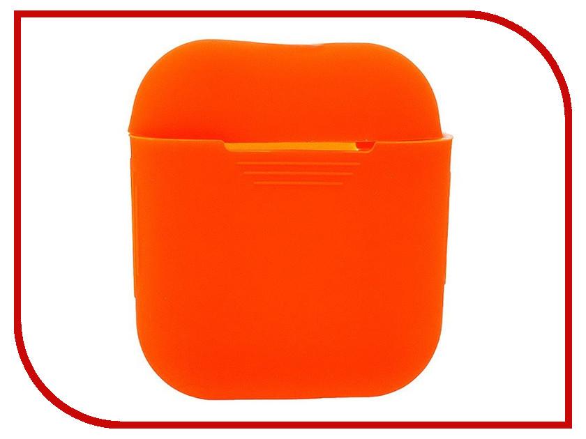 Аксессуар Чехол Activ Silicone Slim для APPLE AirPods Orange 91802 round shaped silicone insulation mat pad orange