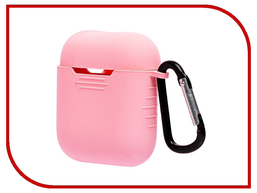 Аксессуар Чехол Activ Silicone для APPLE AirPods Pink 93592 аксессуар чехол activ remax transformer series apple ipad mini 4 pink 74759