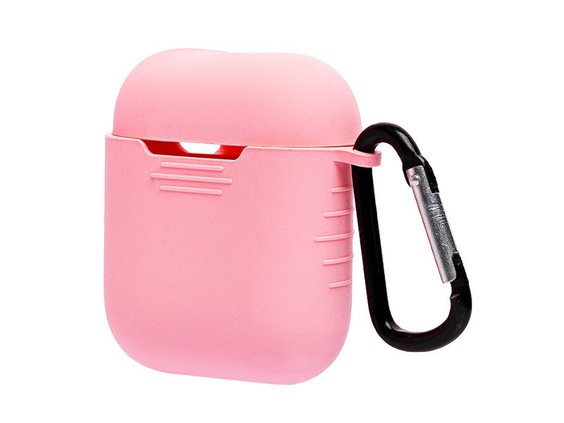 Аксессуар Чехол Activ Silicone для APPLE AirPods Pink 93592