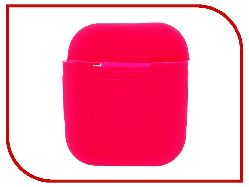 Аксессуар Чехол Activ Silicone Slim для APPLE AirPods Rose 91799 аксессуар чехол накладка htc desire 516 activ silicone red mat 45818