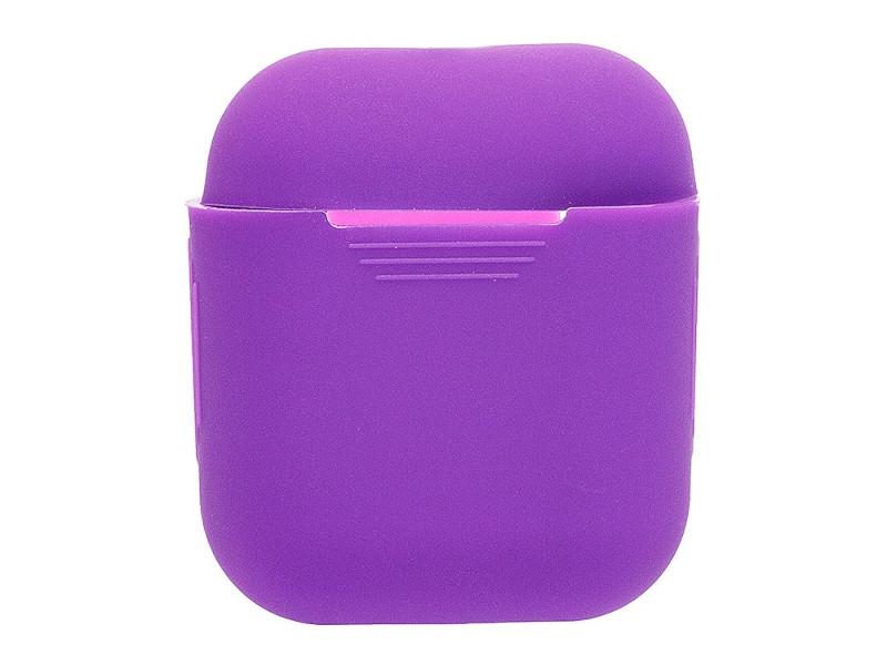 цена на Аксессуар Чехол Activ Silicone Slim для APPLE AirPods Violet 91800