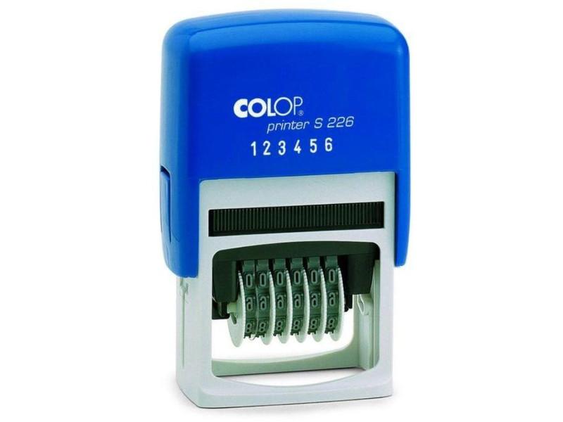 Нумератор автоматический Colop Printer S226 6-разрядный 4mm