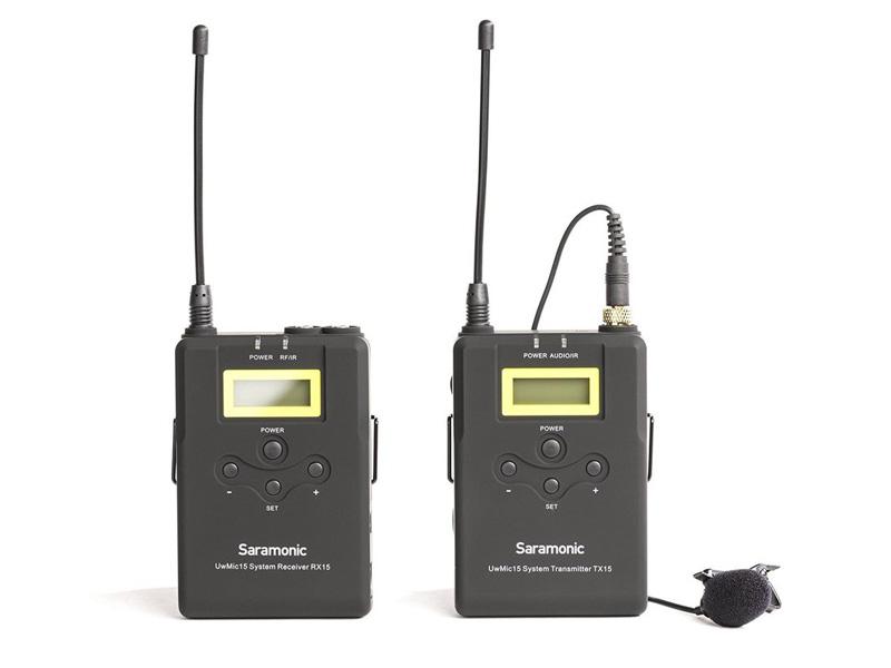 Микрофон Saramonic UwMic15 RX15+TX15