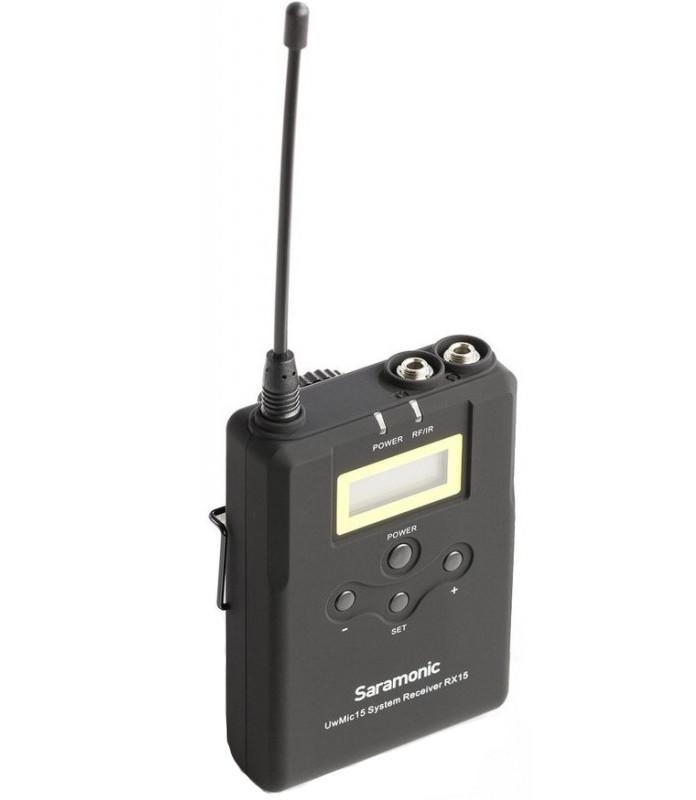 Передатчик Saramonic UwMic15 SR-XLR15 для XLR микрофона мате amanda tradicional pressed 250 г