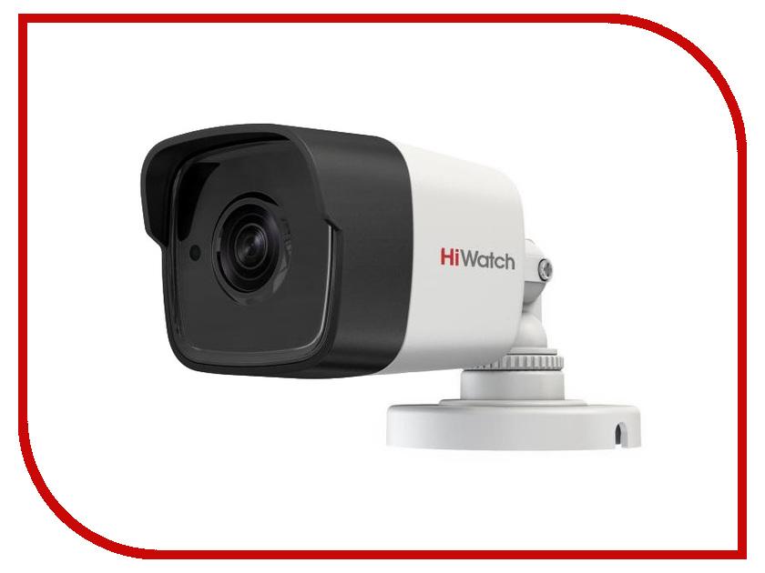 Аналоговая камера HiWatch DS-T500(B) 3.8mm аналоговая камера hiwatch ds t100 2 8mm