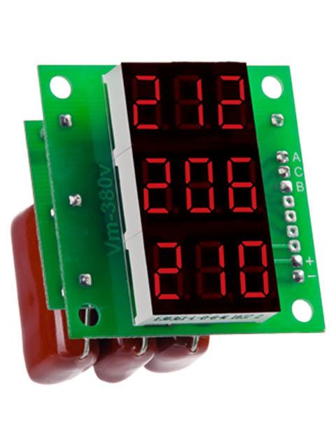 Вольтметр Digitop Вм-14 3x220v Red