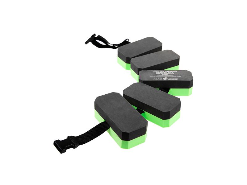 купить Пояс для обучения плаванию Mad Wave Black-Green M0825 55 0 00W дешево