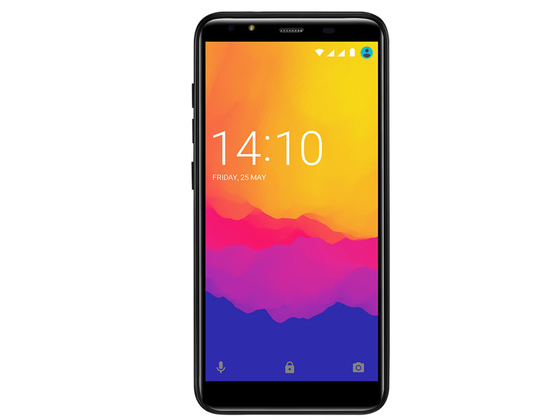 Сотовый телефон Prestigio Muze F5 LTE Black сотовый телефон prestigio 1240 wize c1 black pfp1240duoblack