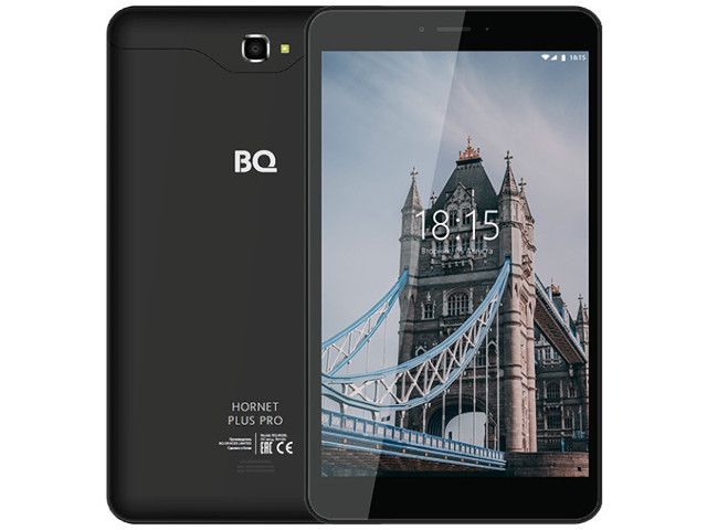 Планшет BQ BQ-8068L Hornet Plus Pro Black (Spreadtrum SC9832 1.4GHz/2048Mb/16Gb/Wi-Fi/3G/Bluetooth/GPS/Cam/8.0/1280x800/Android)