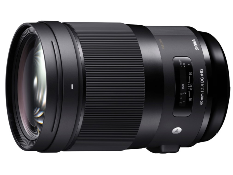 Объектив Sigma 40mm f/1.4 DG HSM Art Canon EF
