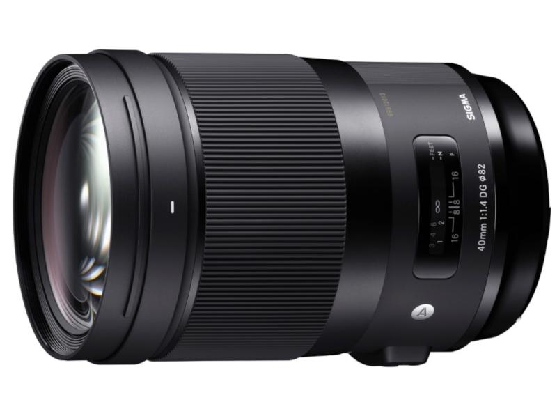 Объектив Sigma 40mm f/1.4 DG HSM Art Nikon F цена