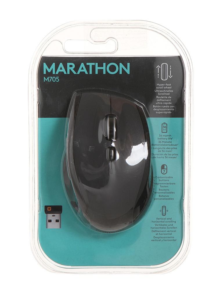 Мышь Logitech M705 Marathon 910-001950 / 910-001230 910-001949 Выгодный набор + серт. 200Р!!!