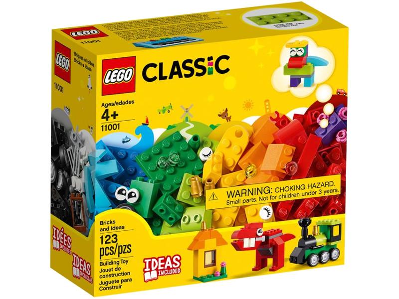 Конструктор Lego Classic Модели из кубиков 123 дет. 11001 цена в Москве и Питере