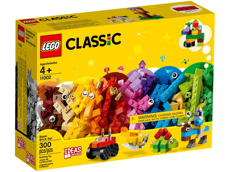 Фото - Конструктор Lego Classic Базовый набор кубиков 300 дет. 11002 пластиковый конструктор набор игровой 36 кубиков