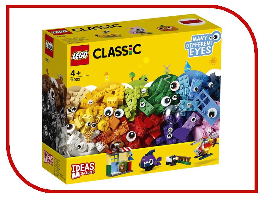 Конструктор Lego Classic Кубики и глазки 451 дет. 11003 кубики кубики abtoys конструктор pt 00578