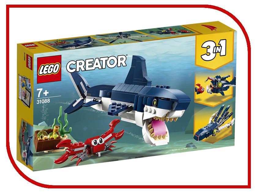 цена Конструктор Lego Обитатели морских глубин 230 дет. 31088