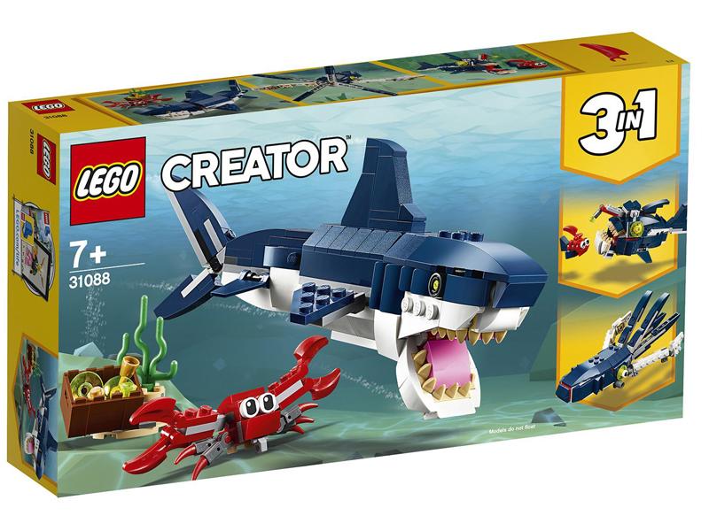 Конструктор Lego Обитатели морских глубин 230 дет. 31088