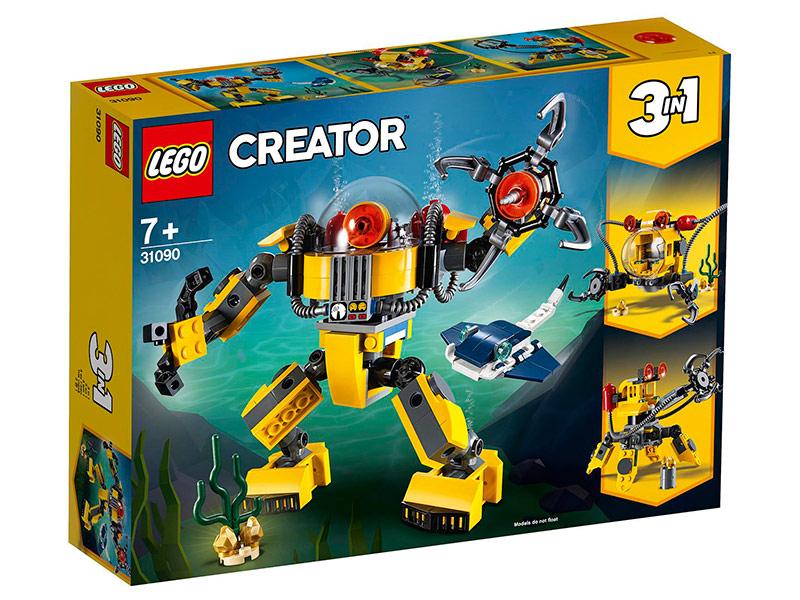 Конструктор Lego Робот для подводных исследований 207 дет. 31090