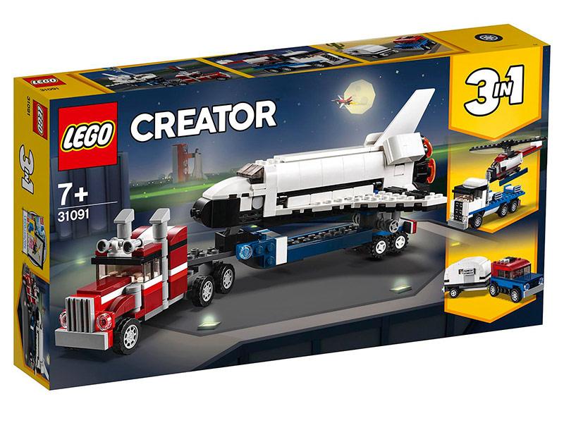 Конструктор Lego Транспортировщик шаттлов 341 дет. 31091