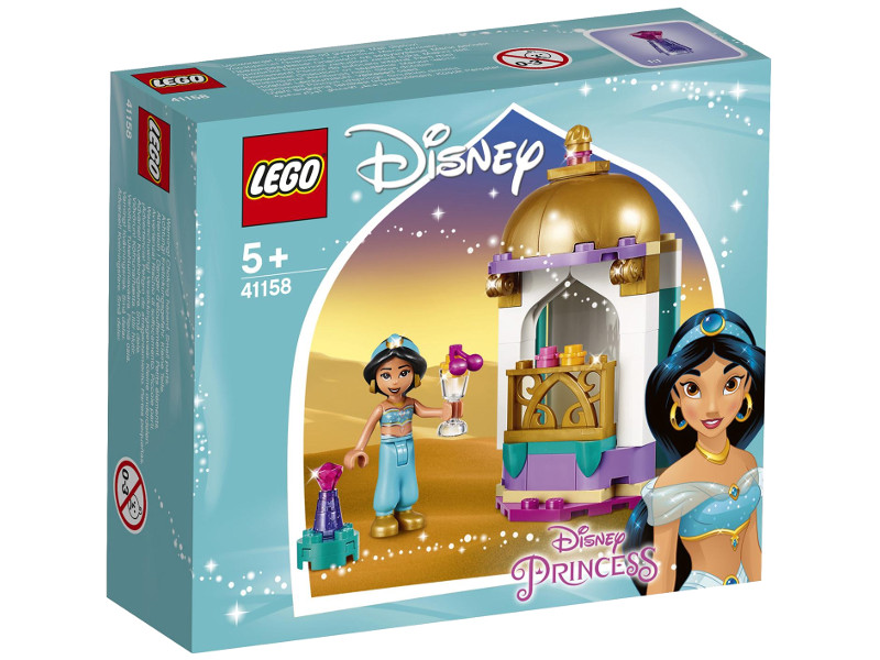 Конструктор Lego Disney Princess Башенка Жасмин 49 дет. 41158 конструктор lego minecraft skeleton bigfig with magma cube 142 дет 21150