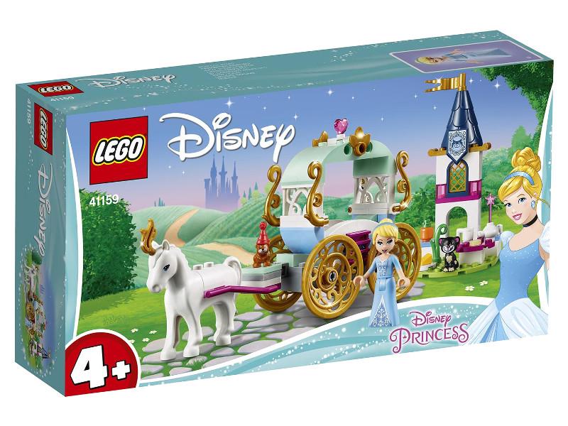 Конструктор Lego Disney Princess Карета Золушки 91 дет. 41159 конструктор lego disney princess волшебный замок золушки 41154